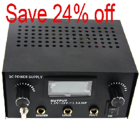 WS-P005 tattoo power supply
